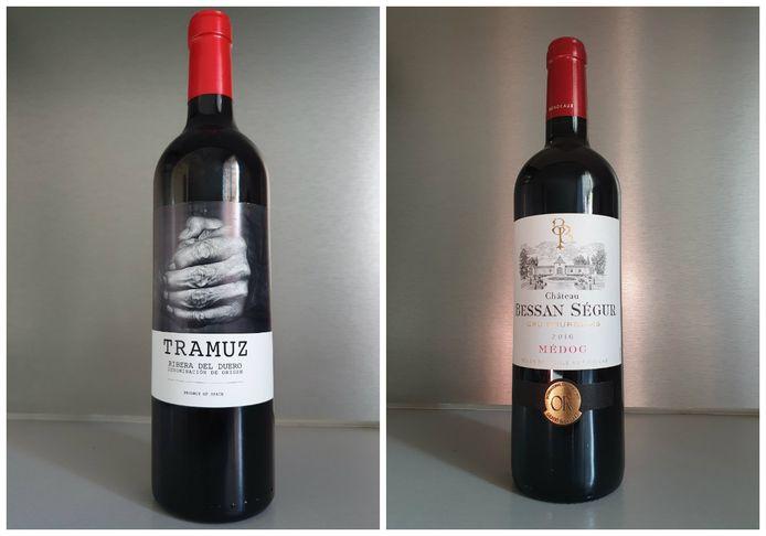 Tramuz et Château Bessan Ségur