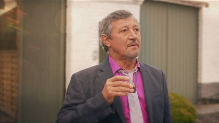 Mark Willems als Luc Bomans in 'Thuis'