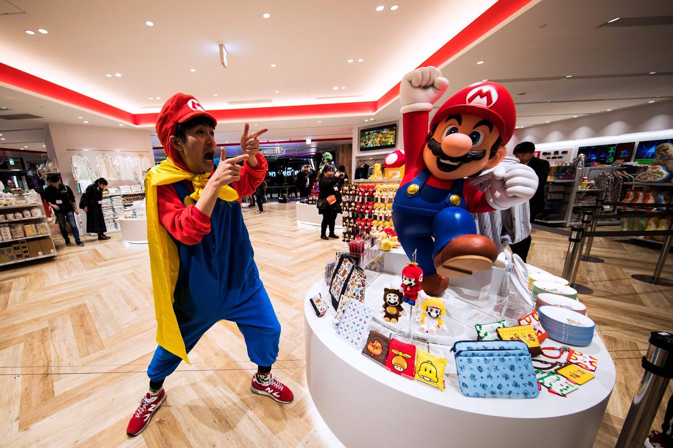 Magasin Nintendo à Tokyo