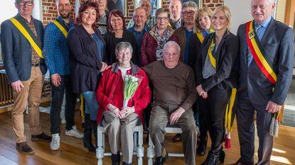 Emile en Maria zestig jaar getrouwd