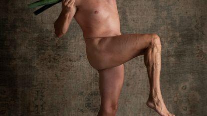 Mannen gaan naakt voor strijd tegen borstkanker