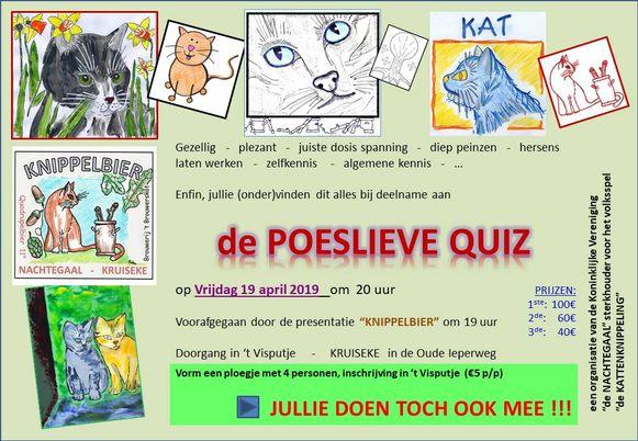 Poeslieve Quiz