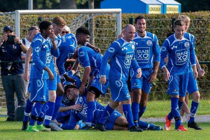 Arnhem, 22 september 2019. Voetbal: Arnhemse Boys - Eldenia. 205094. Foto: Gerard Burgers