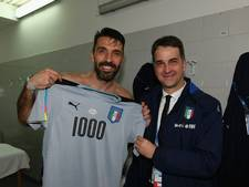 Jubilaris Buffon recordinternational van Europa