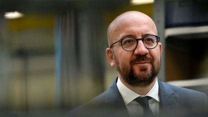 """Premier Michel wil tot de laatste dag regeren: """"We moeten nog meer jobs creëren"""""""