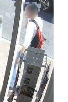 Politie dreigt beelden fietsendief in Boxmeer te tonen als hij zich niet meldt
