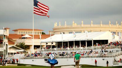 Man gearresteerd na schoten in golfresort Trump