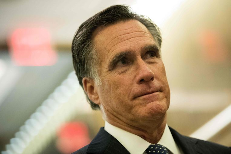 Mitt Romney, een groot Trump-criticus, kan zijn comeback maken in de Senaat.