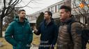 Het trio in New York in Nick, Simon & Kees: Homeward Bound.