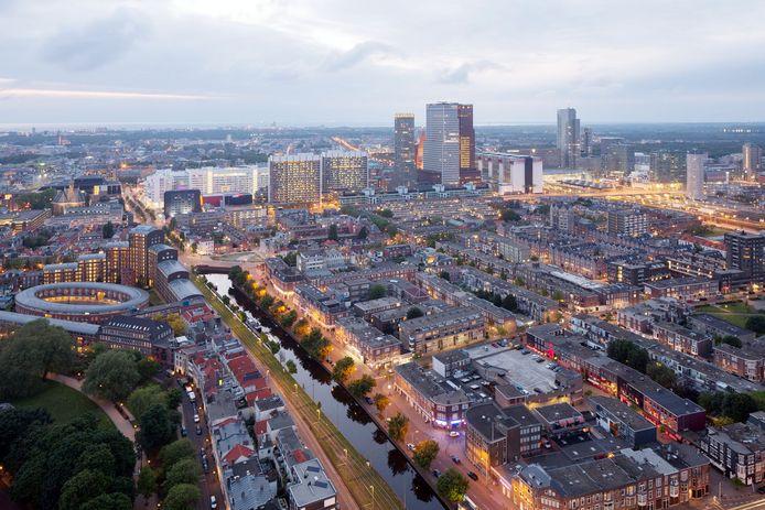 Haagse Skyline, foto ter illustratie.