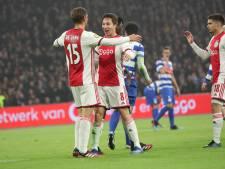 LIVE | Ajax gaat na rust door met doelpunten maken