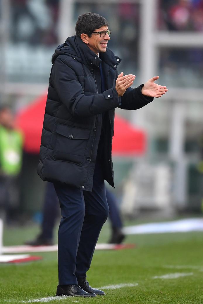 Roberto Murgita reactsvan Genoa.