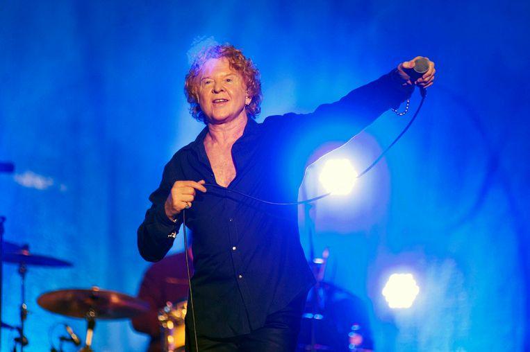 De naam Red lag voor de Britse soulband voor de hand, gezien de vuurrode haardos van zanger Mick Hucknall.  Beeld EPA