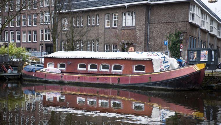 Woonboot Ruysdaelkade Beeld Maarten Steenvoort
