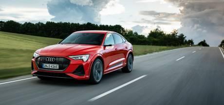 Audi E-Tron S Sportback: sprintwonder met drie elektromotoren