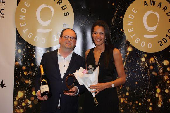 De Cappuccino kreeg de award voor innovatieve horecazaak