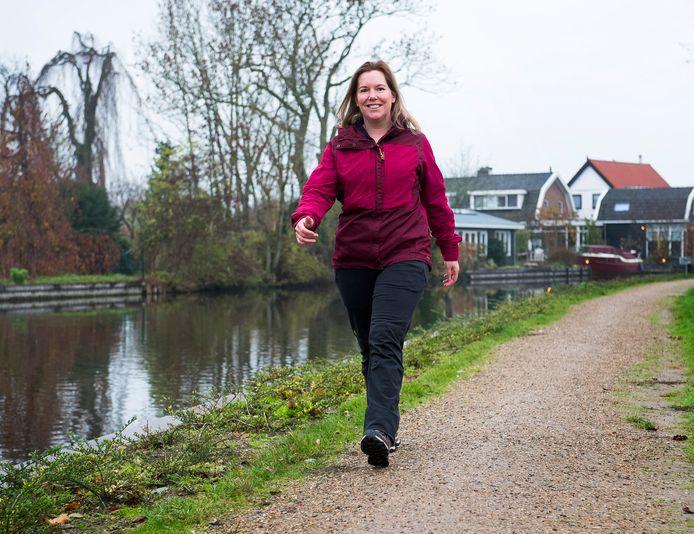 Wandelblogger en professioneel wandelaar Wanda Catsman heeft het aantal wandelaars 'extreem' zien toenemen.