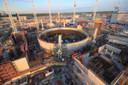 De bouw van een nieuwe kerncentrale van EDF in Hinkley Point, aan het kanaal van Bristol.
