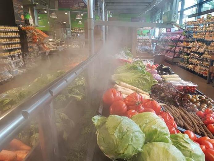 Groente blijft langer goed in de mist.