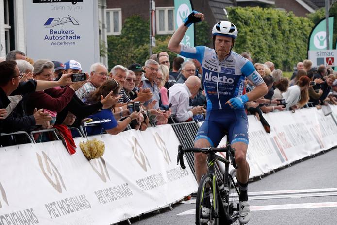 Rene Hooghiemster won dit seizoen Omloop der Kempen in Veldhoven.