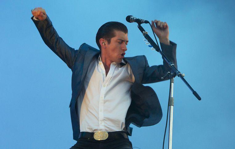 Alex Turner van de Engelse indieband Arctic Monkeys. Beeld ANP Kippa