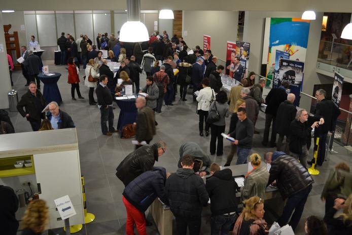 Het Vacaturecafé van MKB Eindhoven koppelt werkgevers en werknemers.