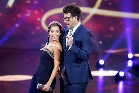 Met Daniel tijdens de show van 25 september.