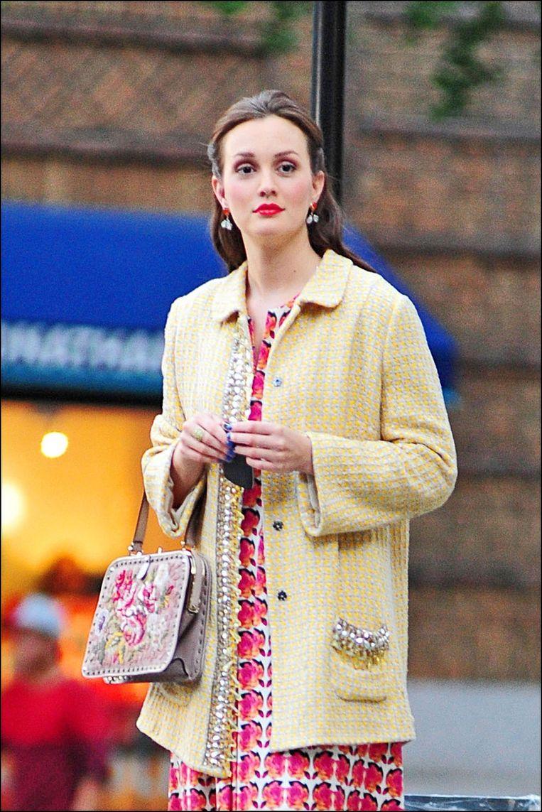 Leighton Meester als Blair Waldorf in 'Gossip Girl'
