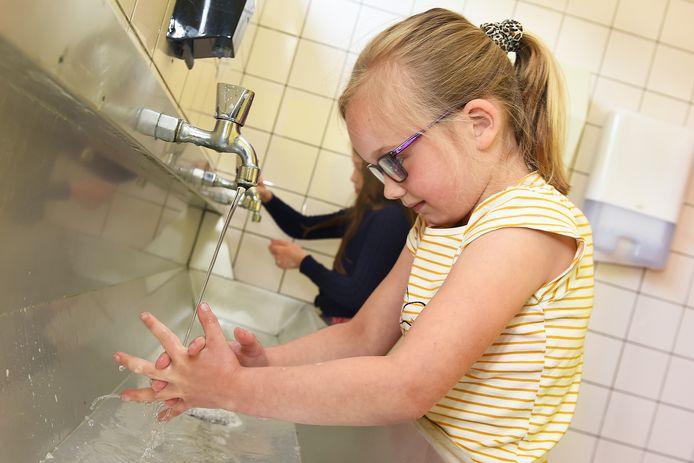 Leerling Myla van basisschool Sint Willebrordus.