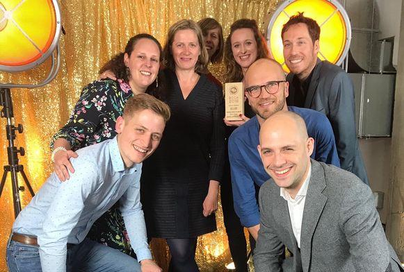 Lokale politie, Stad Antwerpen en communicatiebureau Kunstmaan wonnen een zilveren award voor de campagne.