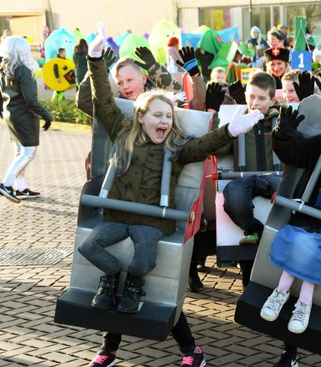 Steense basisscholieren trappen carnaval af in het Rattenrijk