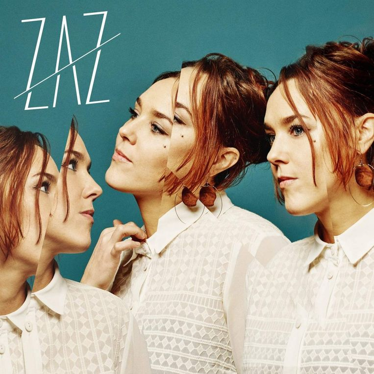 Albumhoes Zaz: Effet Miroir. Beeld Zaz