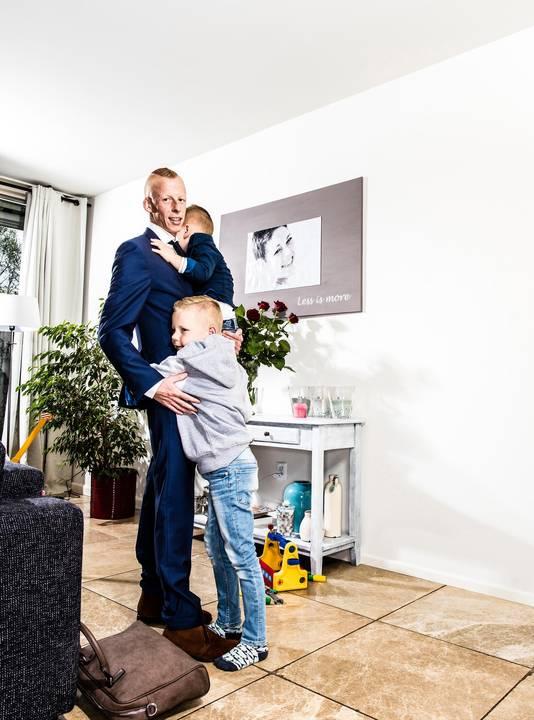 Stephan Punt hield zich groot voor zijn twee zoontjes. 'Met oud en nieuw brak ik.'