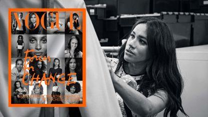 Van Greta Thunberg tot Salma Hayek: deze 15 vrouwen heeft Meghan Markle op de cover van Vogue gezet