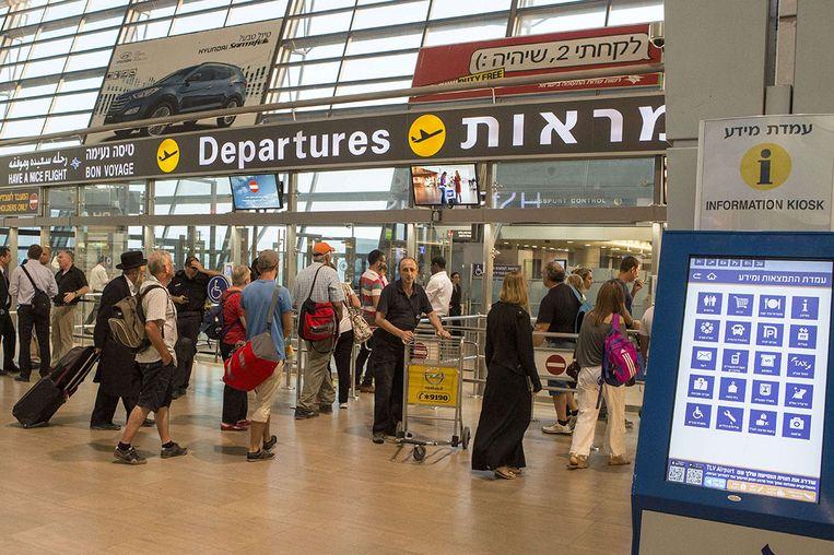 Luchthaven Ben Gurion Beeld null