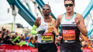 Bashir Abdi breekt op de marathon van Londen het 24 jaar oude Belgische record