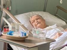 Oma Dieni kan enkel nog puffen in bed: kleinkinderen zamelen geld in voor airco in hospice