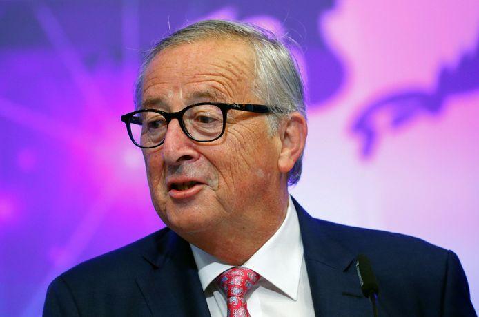 Jean-Claude Juncker is ingenomen met het nieuwe brexitvoorstel van de Britse premier Johnson.