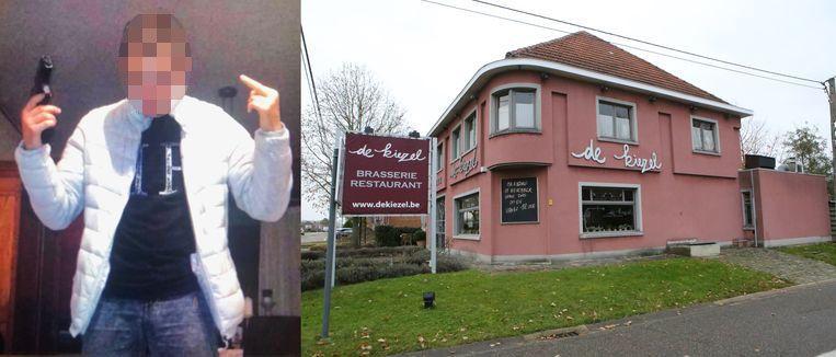 Rillaar-Dader inbraak Brasserie De Kiezel-17-jarige D.F.