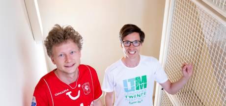 Jelle en Manuel uit Oldenzaal lopen 125.000 treden op voor gedupeerden corona