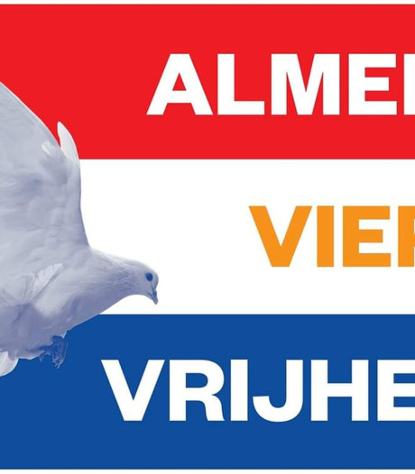 Speciale bevrijdingsvlaggen Almelo staan nog vast in Roemenië