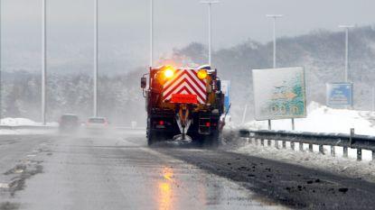 Sneeuwval op komst: strooidiensten rukken om 23.30 uur al uit