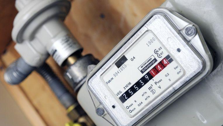 Een gasmeter. Rond 2025 wordt Nederland importeur van gas Beeld ANP
