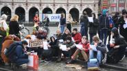 """Zitstaking op Ladeuzeplein: """"Voor een goed klimaatbeleid gaan we even zitten"""""""