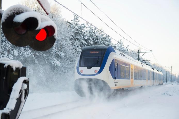Sneeuw en verkeer is een slechte combinatie. Maar dan kunnen we toch altijd nog met de trein?
