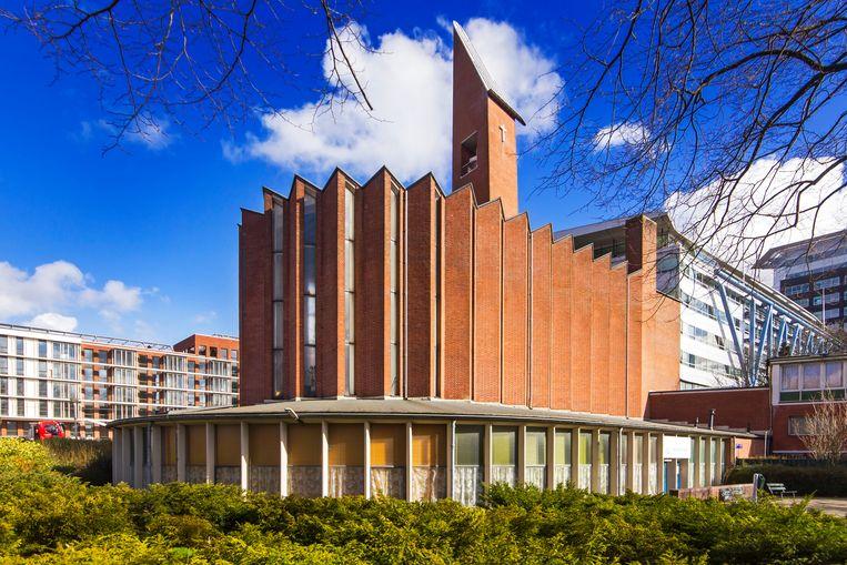 De Kolenkitbuurt dankt zijn naam aan de klokkentoren van de Opstandingskerk Beeld Sander Groen
