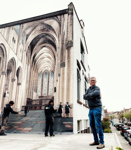 Utrecht heeft er een muurschildering bij: 'Hier kijk ik graag naar, heel indrukwekkend'