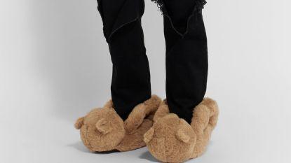 Peperdure teddybeerpantoffels van Vetements meteen uitverkocht