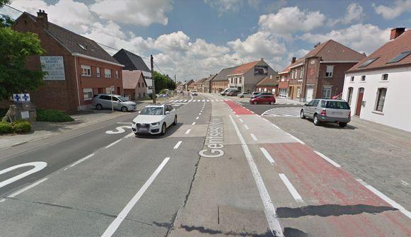 Het ongeval gebeurde op de Gentsesteenweg in Asse-ter-Heide