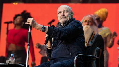 """VIDEO. Phil Collins haalt zijn beste Nederlands boven: """"Mijn voet is naar de kloten"""""""